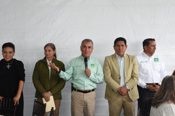 Recuperarán la paz candidatos del PVEM