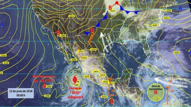 Se mantiene probabilidad de lluvias en Guanajuato