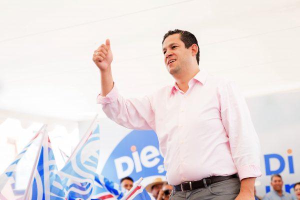 Guanajuato va a decidir el rumbo de México: Diego Sinhue
