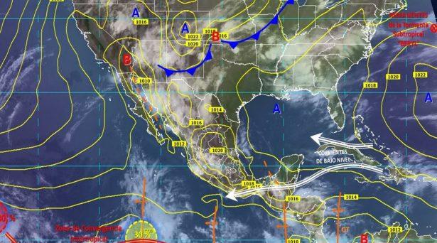 Se mantiene la probabilidad de chubascos y vientos en Guanajuato