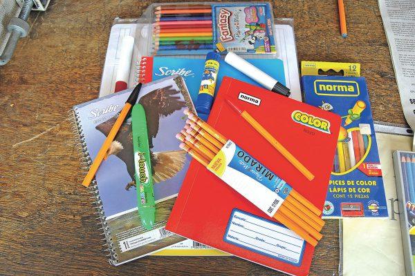 Lista de útiles escolares de educación básica