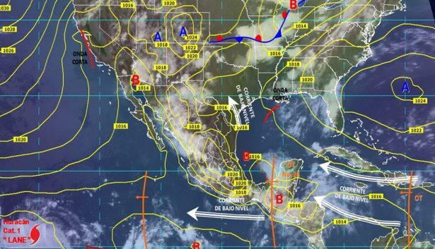 Continuará presencia de lluvias dispersas con tormenta eléctrica en el estado de Guanajuato
