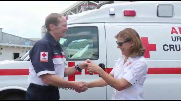 Tiene nueva ambulancia Cruz Roja SMA