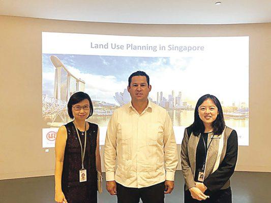 Diego Sinhué vista Singapur y China