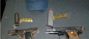 Detienen en el municipio de Jerécuaro a tres hombres armados