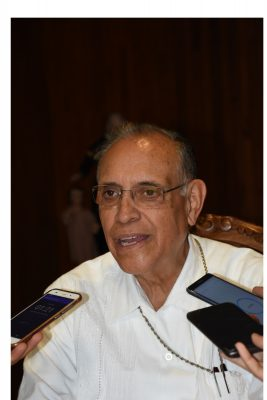 Pide obispo a Ayuntamiento promover la paz