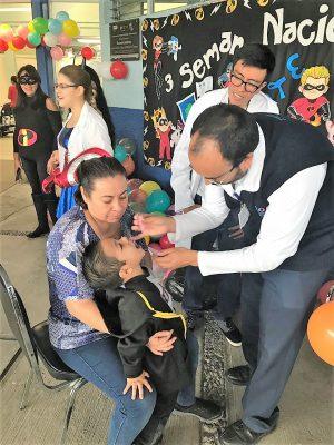 Inició ayer la campaña intensiva de vacunación