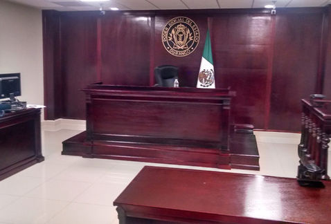 Suman apenas 37 salas de justicia penal del sistema acusatorio