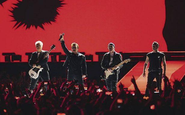 U2 recibe galardón en los European Music Awards 2017