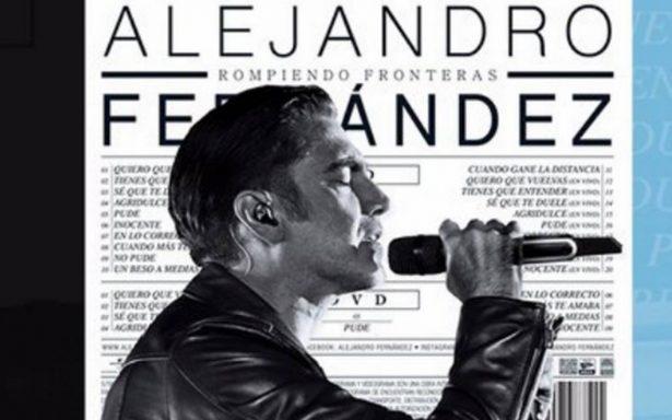 """Alejandro Fernández lanza versión deluxe del disco """"Rompiendo fronteras"""""""