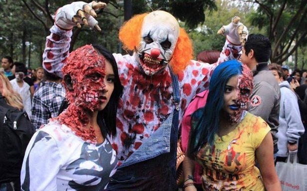 Los zombies invaden las calles del centro capitalino