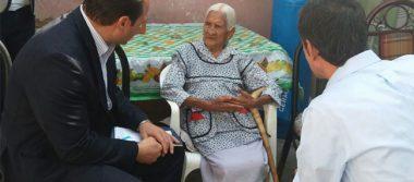 Por tener 116 años, banco le niega a María Félix una cuenta para su pensión