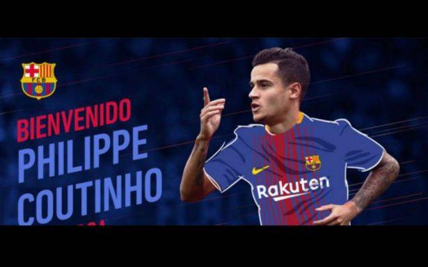 Oficial: Philippe Coutinho, nuevo jugador del Barcelona