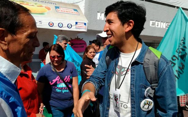 Pedro Kumamoto rechaza apoyo de grupos económicos, políticos o universitarios