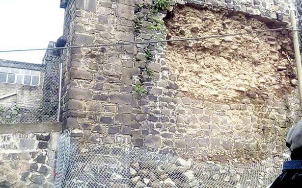 Daños en 30% de sitios históricos tras sismo