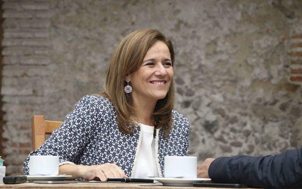 Mi salida no fragmentó a Acción Nacional: Margarita Zavala