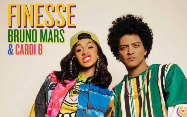 Bruno Mars rinde homenaje a la década de los 90 en 'Finesse'