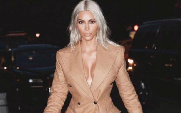 Kim Kardashian muestra su lado más salvaje con desnudo total