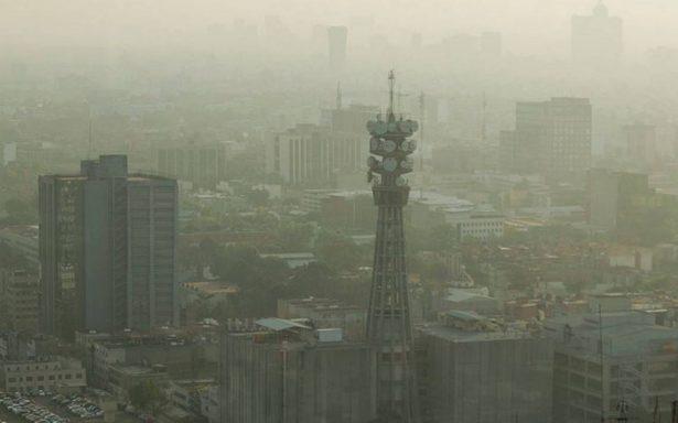 En domingo, reportan mala calidad de aire en el Valle de México
