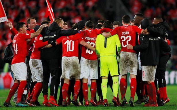 Suiza se suma a la cita del Mundial de Rusia 2018