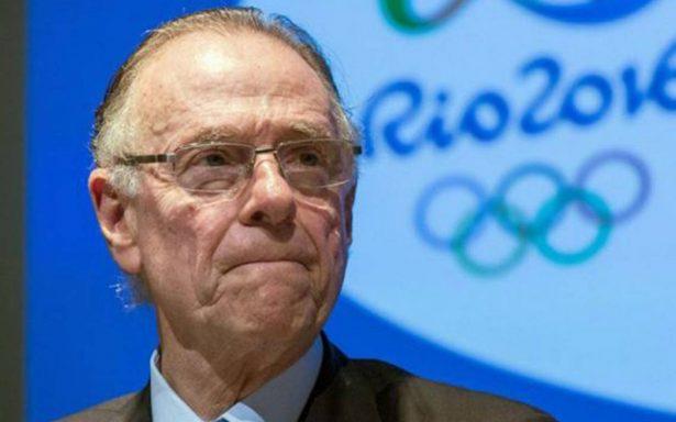 COI suspende provisionalmente al Comité Olímpico Brasileño