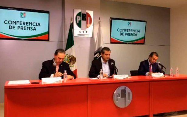 [En vivo] PRI ofrece conferencia, tras no lograr mayoría para nueva Mesa Directiva