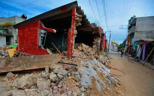 Caminos a San Gregorio colapsados desde el sismo del 19-S