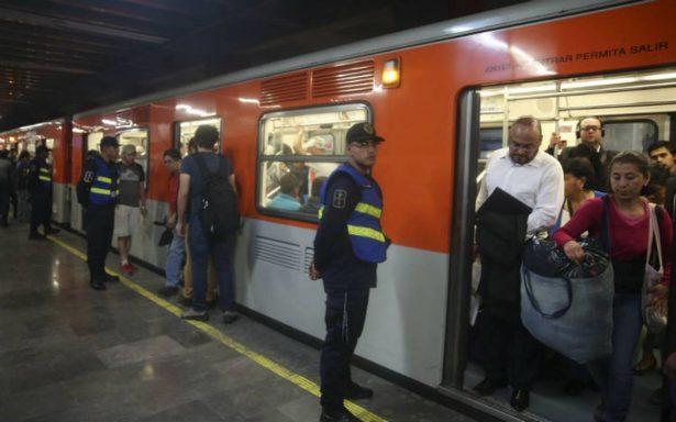 Agentes encubiertos actuarán de manera permanente en el Metro