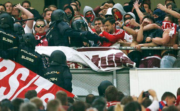 Bayern se queja ante UEFA por violencia de Policía española