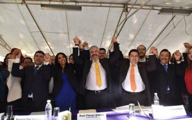 PAN, PRD y MC registran al Frente Ciudadano por la CDMX de cara al 2018