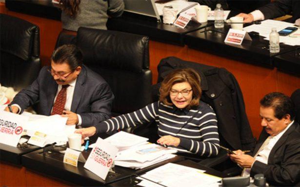Frente y Morena afinan detalles para impugnar Ley de Seguridad