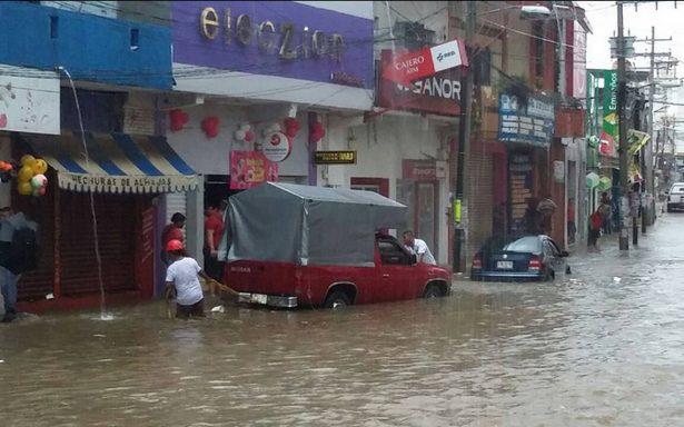 Luego del sismo, lluvias afectan al Istmo de Tehuantepec