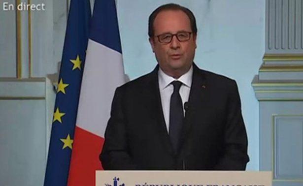 """Asegura Hollande que el tiroteo de París es de """"carácter terrorista"""""""
