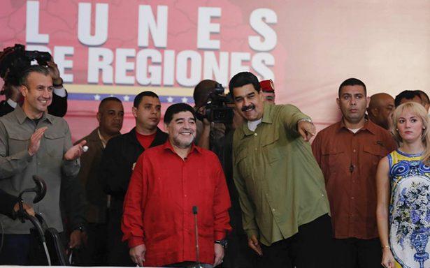Maradona será comentarista en Venezuela para el Mundial 2018