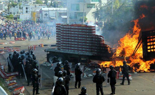 CNTE exige cárcel para Gabino Cue por caso Nochixtlán
