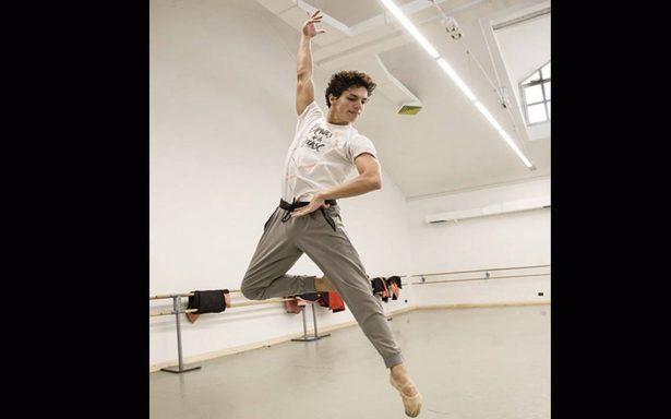 El bailarín Isaac Hernández es ejemplo de constancia y disciplina