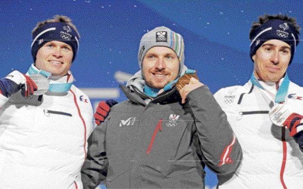 Marcel Hirscher nuevo campeón Olímpico