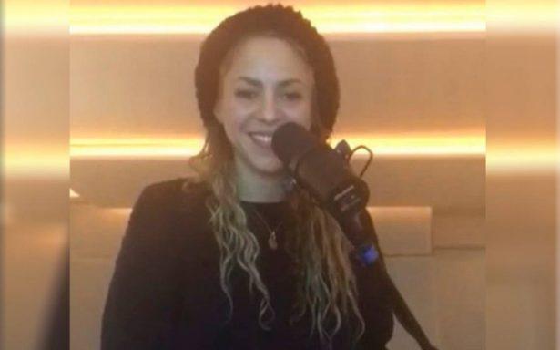 [Video] ¿Mejor de salud? Shakira reaparece cantando 'Toneladas'