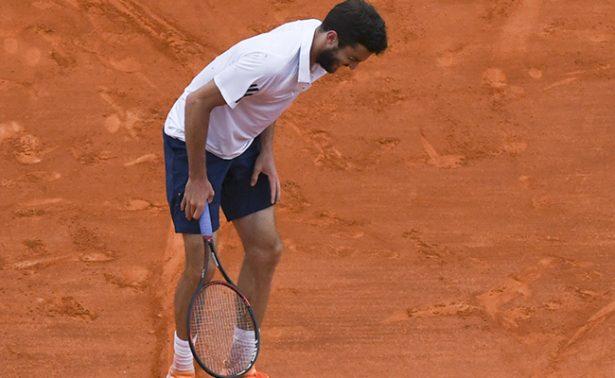 Novak Djokovic derrotó a Gilles Simon en el Masters de Montecarlo.