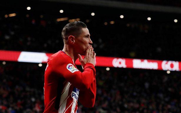 Torres le da triunfo al Atlético de Madrid