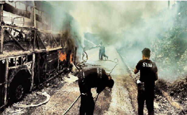 Falta de equipo y capacitación, principales carencias entr bomberos