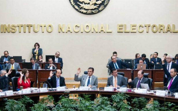 INE aprueba realización de tres debates presidenciales en 2018