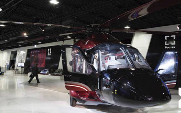 Rostec apertura de una base de mantenimiento de helicópteros