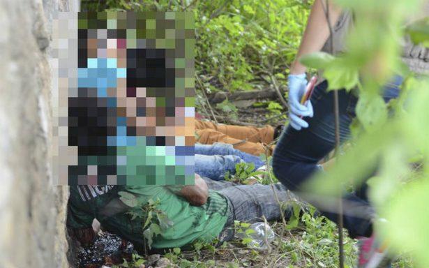 Con tiro de gracia, ejecutan a cuatro hombres en Coyuca