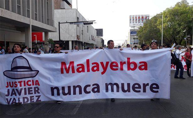 #NoAlSilencio periodistas del país marchan por homicidios de colegas