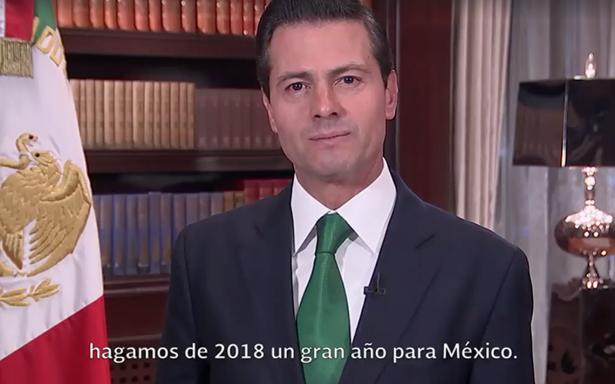 Peña Nieto promete que no habrá nuevos impuestos en 2018