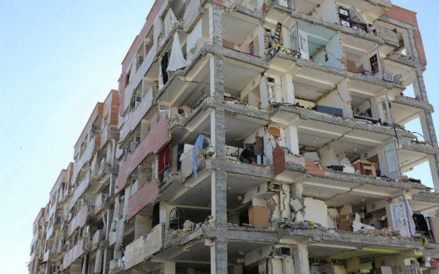 Sube a 339 cifra de muertos por terremoto en frontera de Irán e Irak