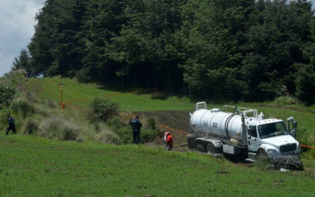 Policía de Puebla recupera cuatro mil litros de combustible