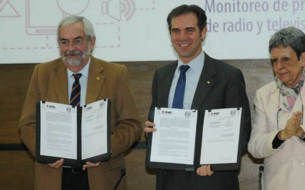 INE y UNAM firman convenio para monitoreo de medios en precampañas y campañas