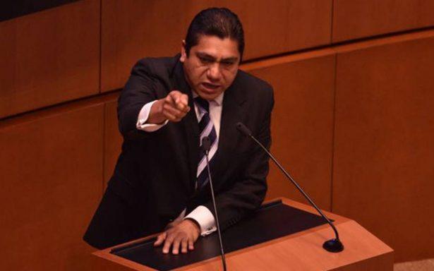 Panistas señalan a Cordero como traidor tras elección en el Senado